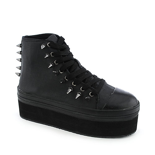 YRU Elevation womens casual lace-up platform sneaker
