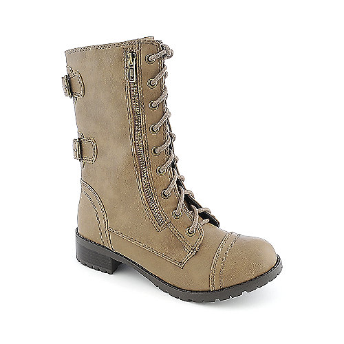 Soda Dome-SA womens mid calf military boot