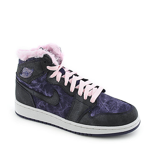 Nike Jordan Girls AJ 1Retro High Prem (GS) basketball sneaker