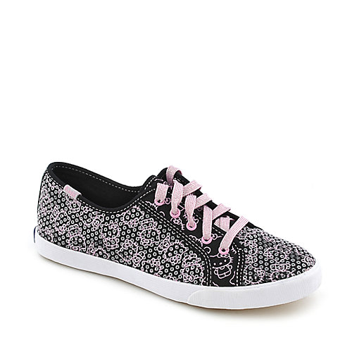 Kids Hello Kitty Celeb black casual sneaker