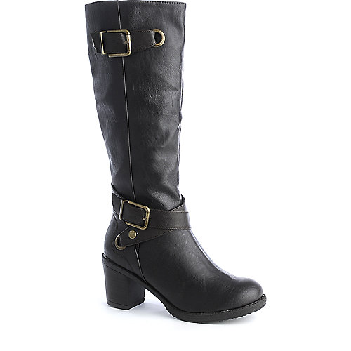 Soda Gain-H womens high heel knee high boots