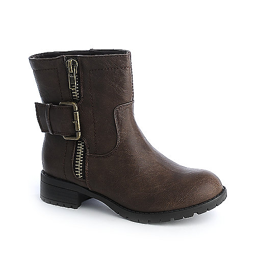 Soda Rondo-S womens ankle riding boot
