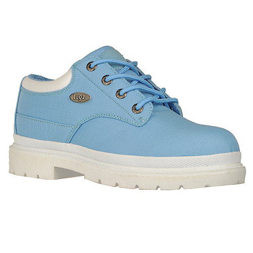 Buy Lugz Men Drifter Lo Ripstop Baby Blue White Textile Casual Boots