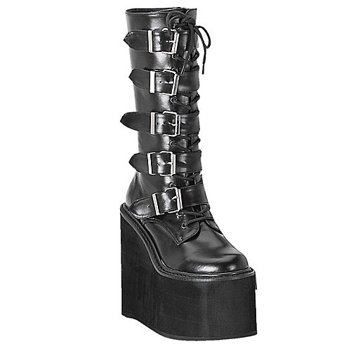 Demonia Womens Swing 5 Buckle