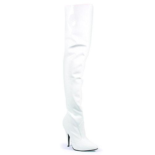 Pleaser Seduce high 3010 high Seduce heel thigh high stivali ccd179