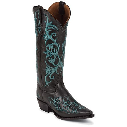 Tony Lama Black Signature Calf