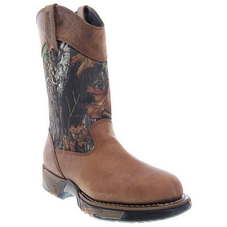 Aztec Waterproof Camo Pull-On Boots