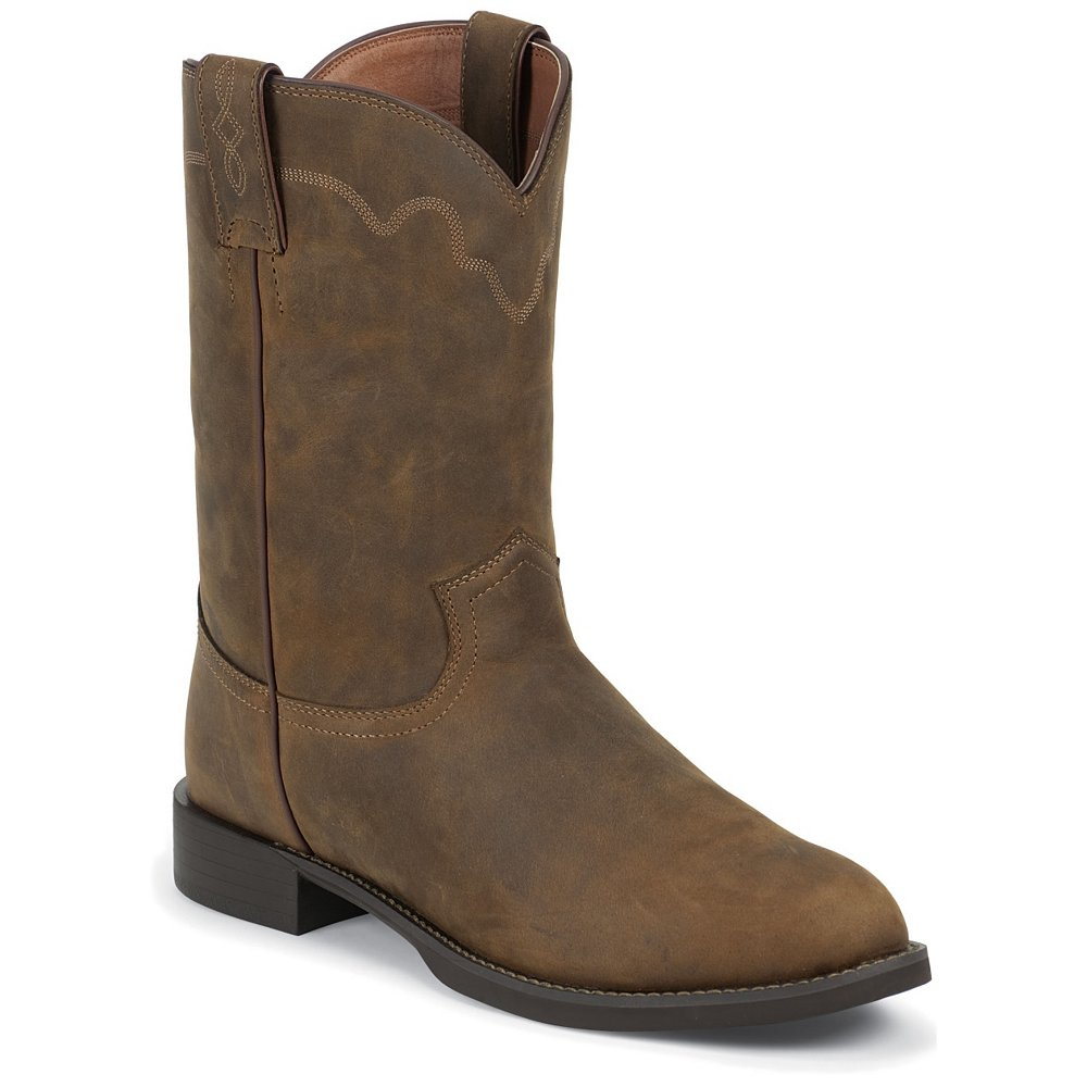 My Shoes Best Price Collection Justin Men S Stampede Tan Apache Western Boots