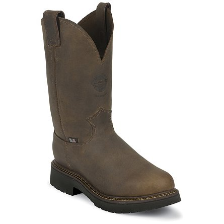 Justin Original Work Rugged Bay Gaucho Steel Toe 11""