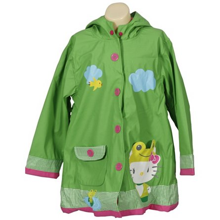 Hello Kitty Froggy Raincoat (Toddler)