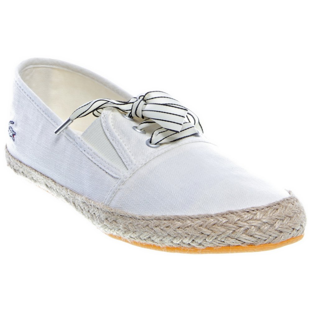 lacoste womens fabian espa casual shoes dazzleshare