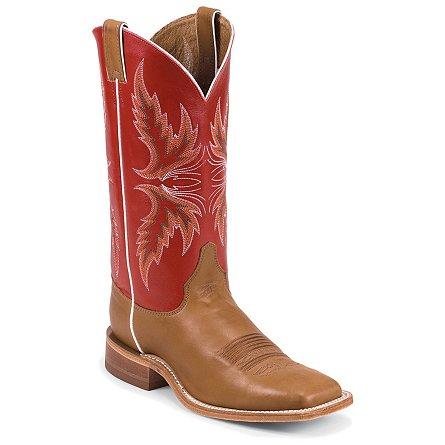 Justin Boots Bent Rail™ Brandy Burnished Calf