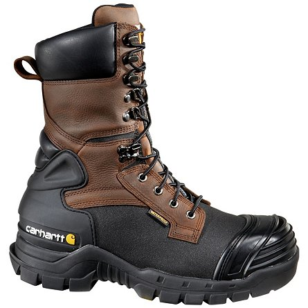 "Carhartt 10"" Waterproof Insulated Pac Boot Soft Toe"