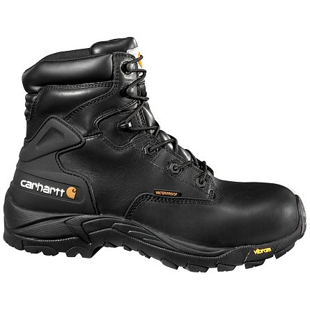 "Carhartt 6"" Blucher Waterproof Hiker Safety Toe"