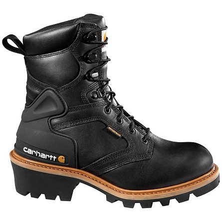 "Carhartt 8"" Waterproof Logger Soft Toe"