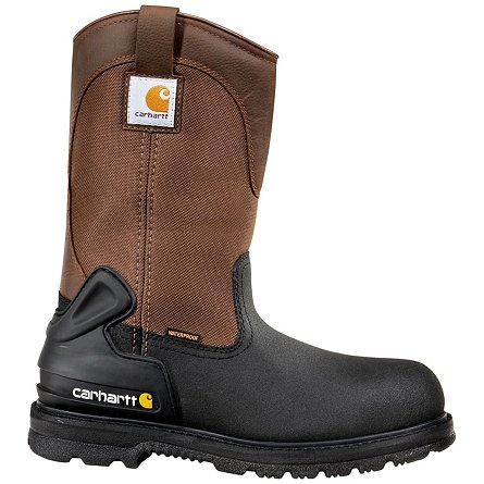"Carhartt 11"" Waterproof Insulated Wellington Safety Toe"