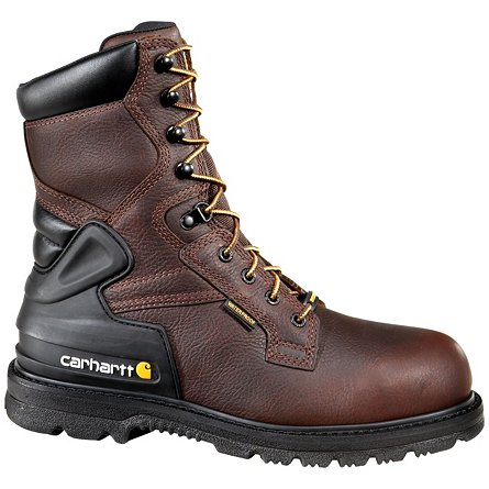 "Carhartt 8"" Waterproof Insulated Soft Toe"