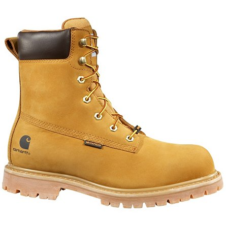"Carhartt 8"" Waterproof Insulated Safety Toe"