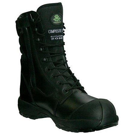 "Dawgs Ultralite 8"" Side Zip Comfort Pro - Composite Safety Boot"