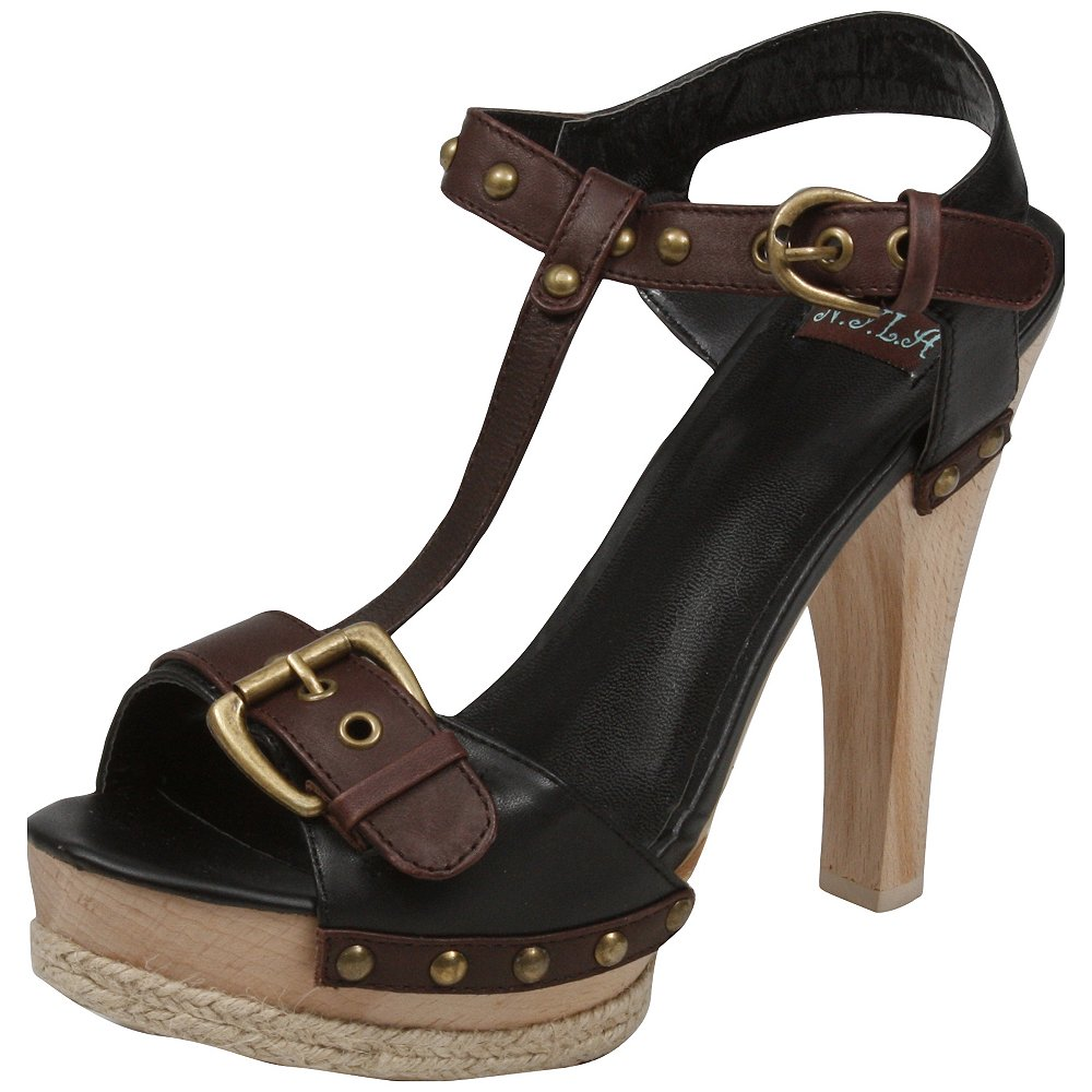 N.Y.L.A. Womens Daron Heels & Wedges Shoes