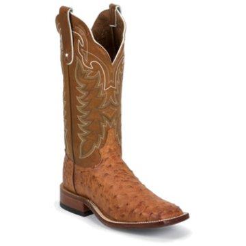 Tony Lama Men's Cognac Vintage Ostrich Western Boots