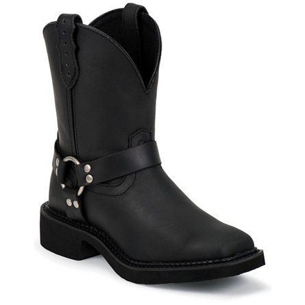Justin Boots Justin Gypsy® Black Crazy Horse Harness Boot