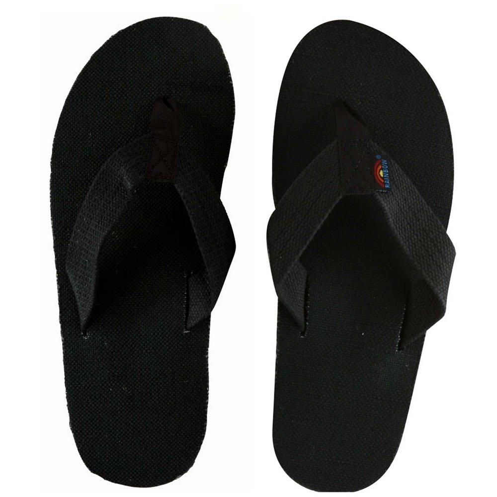 Rainbow men's Hemp Single Layer Shoes