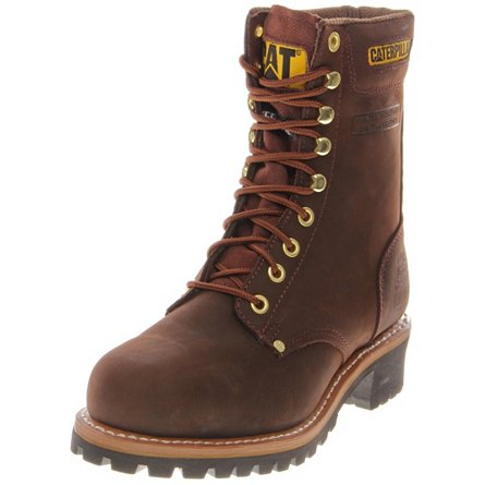 "CAT Footwear Logger 9"" Steel Toe"