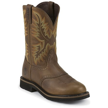 Justin Original Work Sunset Cowhide Steel Toe