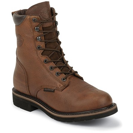 Sunset Cowhide Waterproof Steel Toe