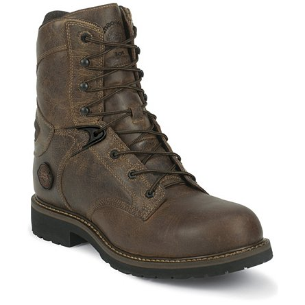 Justin Original Work Rugged Utah Composition Toe