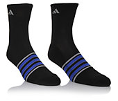 Adidas Men's Mens 2pr Casual 1/2 Crew Stripe