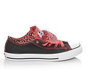 Converse Girls' Chuck Taylor Double Tongue Ox 10-6