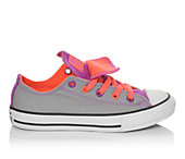Converse Girls' Chuck Taylor All Star DBL Tongue 10.5-6