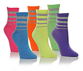 UNR8ED ACCESSORIES  Womens 6pr Ankle Sock