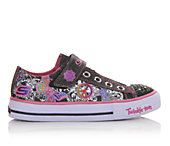 Skechers Girls' Shuffles Twinkle Toe 10.5-5