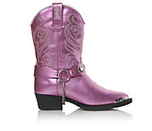 Laredo Western Boots Girls' Harness Strap J Toe Girls