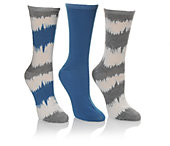 Steve Madden Women's 3-Pair Crew Socks