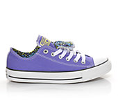 Converse Women's Chuck Taylor Double Tongue Nail Art
