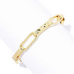 Toscana Italiana 18K Gold Embraced™ Acqua Bagnata Elongated Link Bracelet