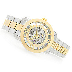 Invicta Men's 45mm Vintage Automatic Skeletonized Dial Stainless Steel Bracelet Watch - 641-758