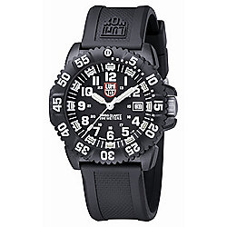 Luminox Men's 45mm Navy SEAL Colormark Swiss Made Quartz Silicone Strap Watch - 648-101