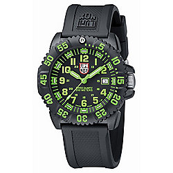 Luminox Men's 44mm Navy SEAL Colormark Swiss Made Quartz Silicone Strap Watch - 648-105