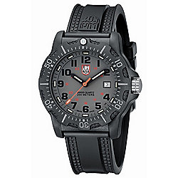 Luminox Men's 45mm Swiss Made Quartz Carbon-Reinforced Silicone Strap Watch - 648-114