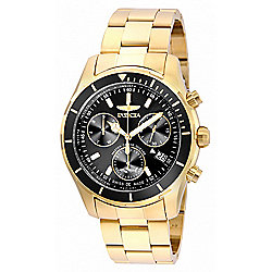 Invicta Men's 44mm Pro Diver Swiss Made Quartz Chronograph Stainless Steel Bracelet Watch - 651-469