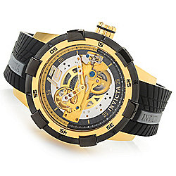 Invicta Men's 50mm S1 Rally Automatic Skeletonized Dial Silicone Strap Watch - 652-824
