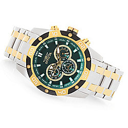 Invicta Men's 48mm Speedway Quartz Chronograph Stainless Steel Bracelet Watch - 654-265