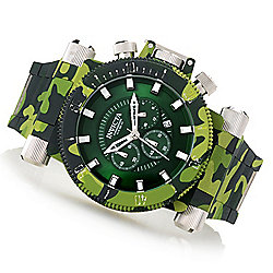 Invicta Men's 52mm Coalition Forces Camo Hydroplated Quartz Chronograph Bracelet Watch w/ Dive Case - 654-881