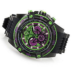 Invicta Marvel 45mm or 52mm Bolt Viper Limited Edition Quartz Silicone Strap Watch - 656-694