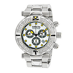 Invicta 47mm Subaqua Noma I Limited Edition Quartz Chronograph Stainless Steel Bracelet Watch